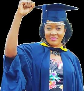 Francine Mukwaya Sodi, Graduation