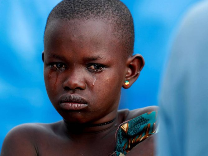 Congo, Girl in Camp